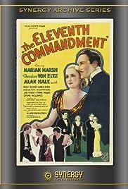 The Eleventh Commandment Poster