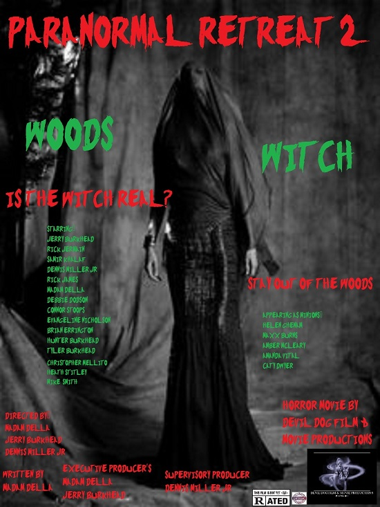 Paranormal Retreat 2 The Woods Witch Full Movie Watch Online Download Free