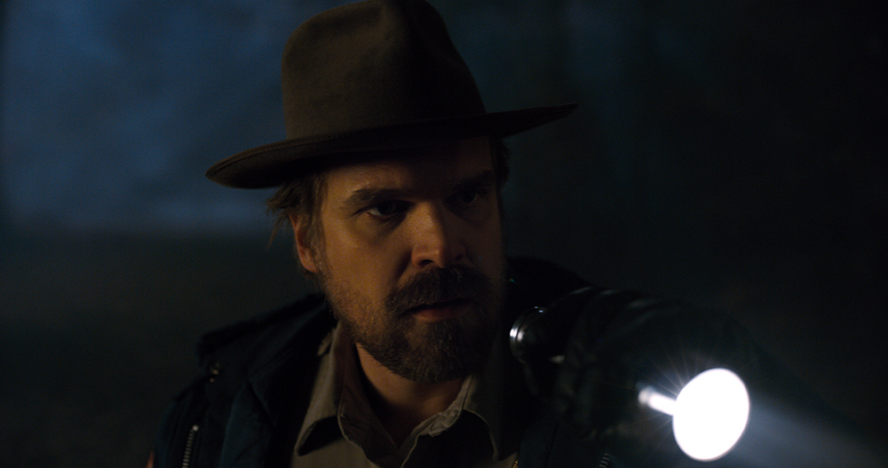 Jim Hopper in Stranger Things 2