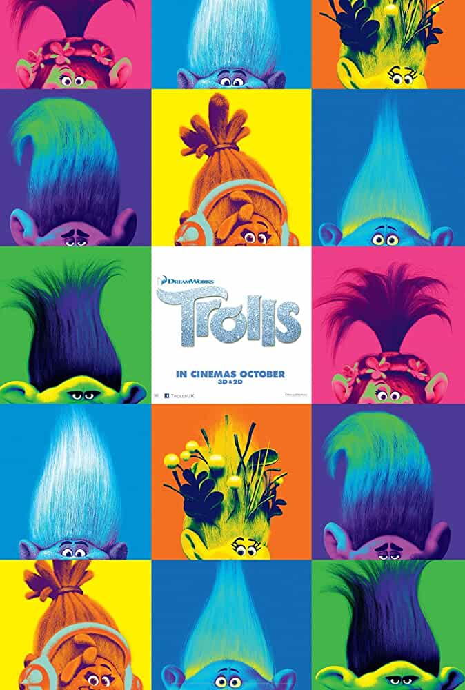 Trolls Full Movie Download Free 3D Animated 2016 HD 720p BluRay IN Hindi