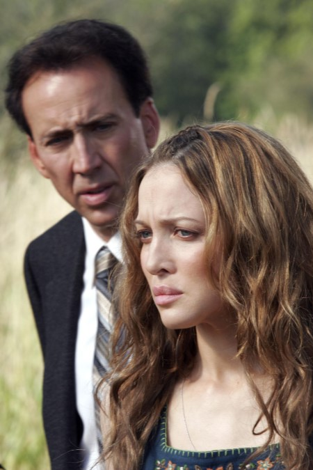 Nicolas Cage and Kate Beahan in The Wicker Man (2006)