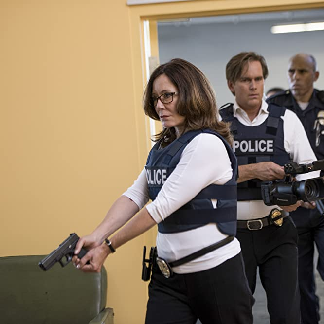 Mary McDonnell and Phillip P. Keene in Major Crimes (2012)