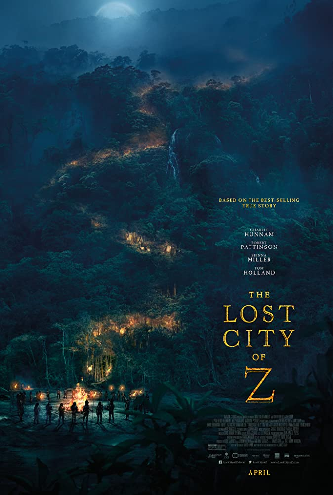 The Lost City of Z poster do filme