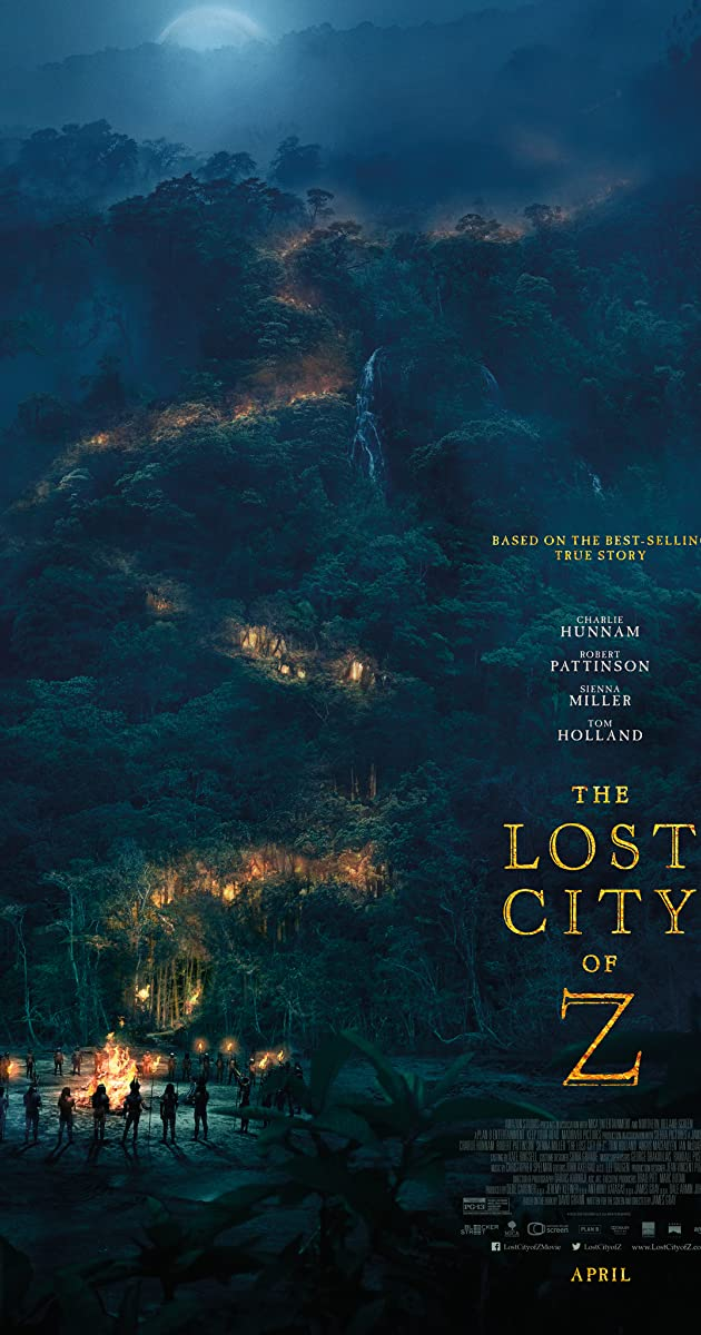 Prarastasis miestas Z / The Lost City of Z (2016) Online