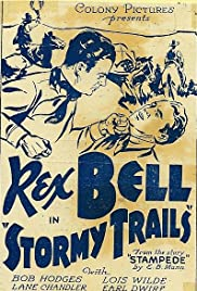 Stormy Trails Poster