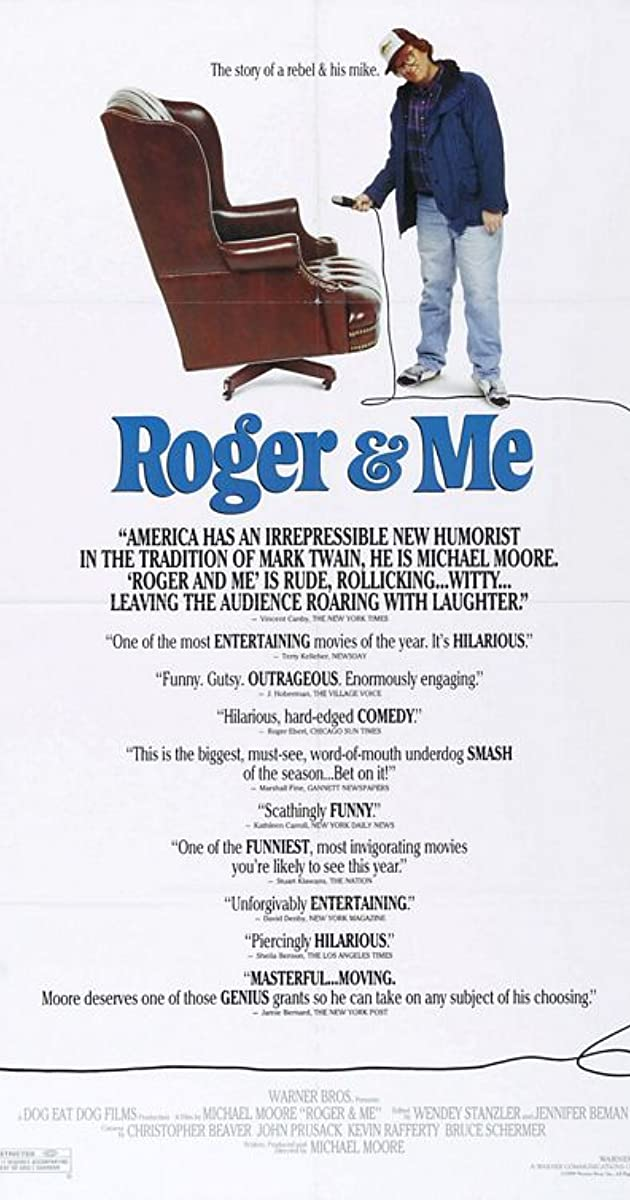 roger me plot summary imdb