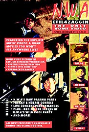 N.W.A.: Efil4zaggin - The Only Home Video Poster