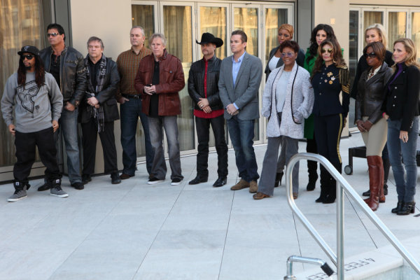 Gary Busey, Meat Loaf, Mark McGrath, Dionne Warwick, La Toya Jackson, Star Jones, Marlee Matlin, Jose Canseco, Lil Jon, Niki Taylor, and John Rich in The Apprentice (2004)