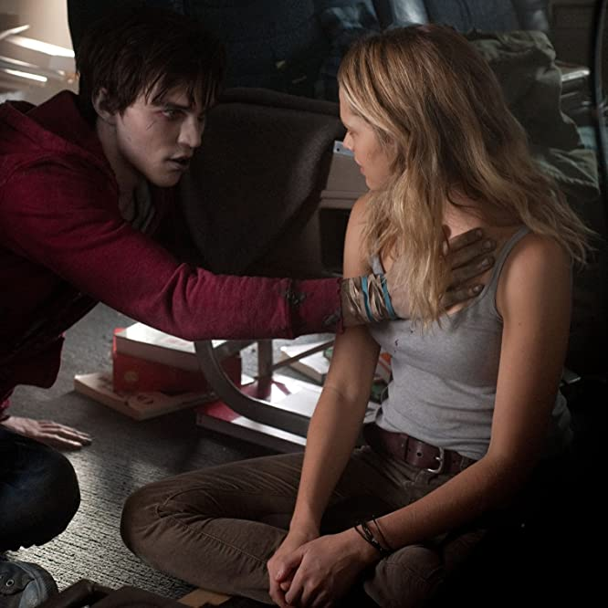 Nicholas Hoult and Teresa Palmer in Warm Bodies (2013)