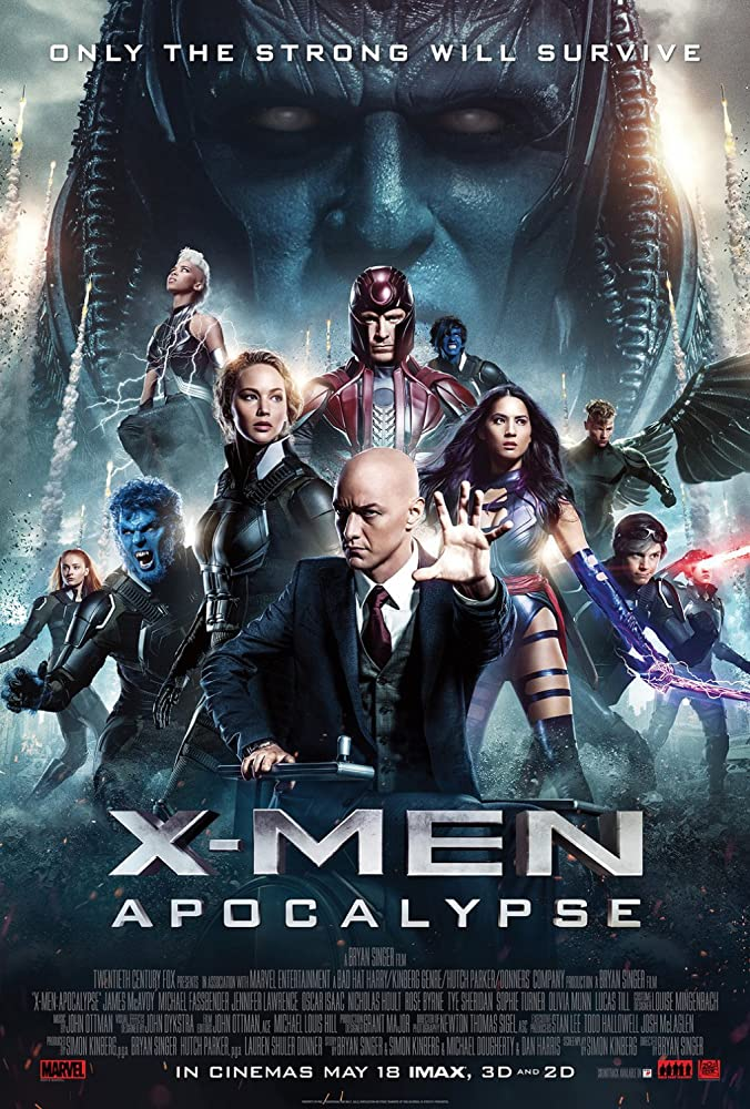 X-Men Apocalypse 2016 720p BRRip Dual Audio Hindi DD5.1(Original) + English Watch online Free download