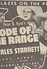 Code of the Range Poster