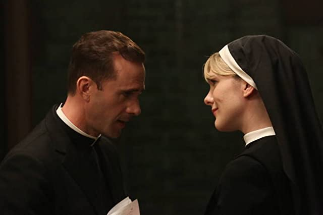 Joseph Fiennes and Lily Rabe in American Horror Story (2011)