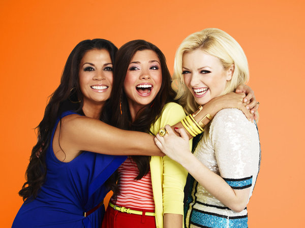 Dina Eastwood, Francesca Eastwood, and Morgan Eastwood in Mrs. Eastwood & Company (2012)