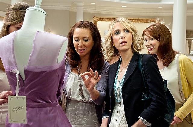 Rose Byrne, Maya Rudolph, Kristen Wiig, and Ellie Kemper in Bridesmaids (2011)