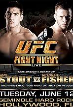 UFC Fight Night: Stout vs Fisher