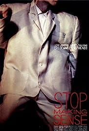 Stop Making Sense(1984) Poster - Movie Forum, Cast, Reviews