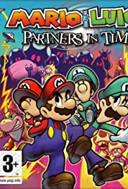 Mario & Luigi: Partners in Time Poster
