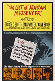 The List of Adrian Messenger(1963) Poster - Movie Forum, Cast, Reviews
