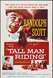 Tall Man Riding (1955) Poster - Movie Forum, Cast, Reviews
