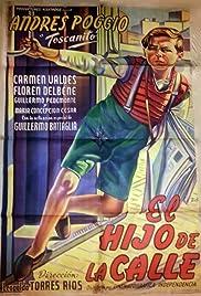 El hijo de la calle Poster