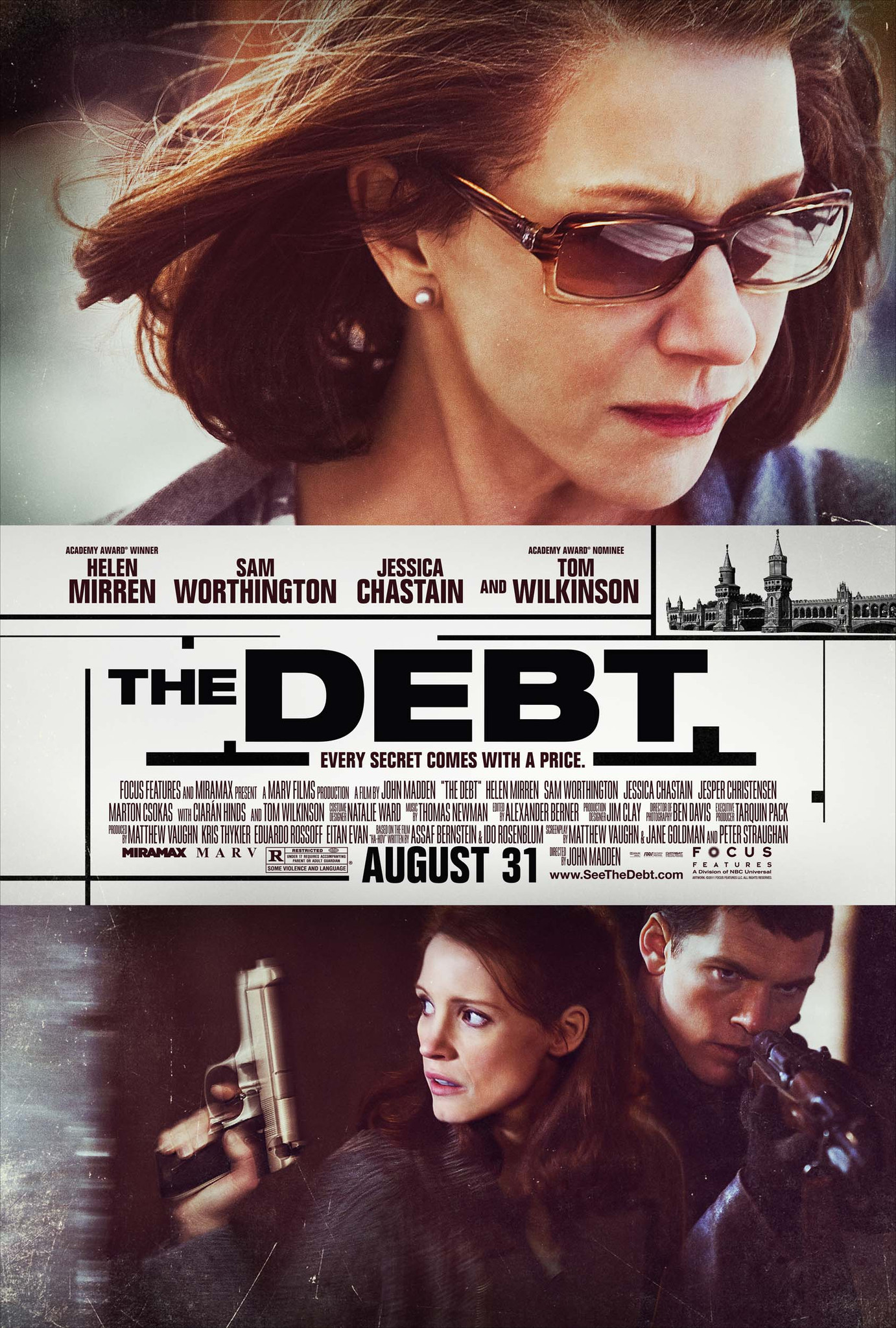 image The Debt (2010/I) Watch Full Movie Free Online