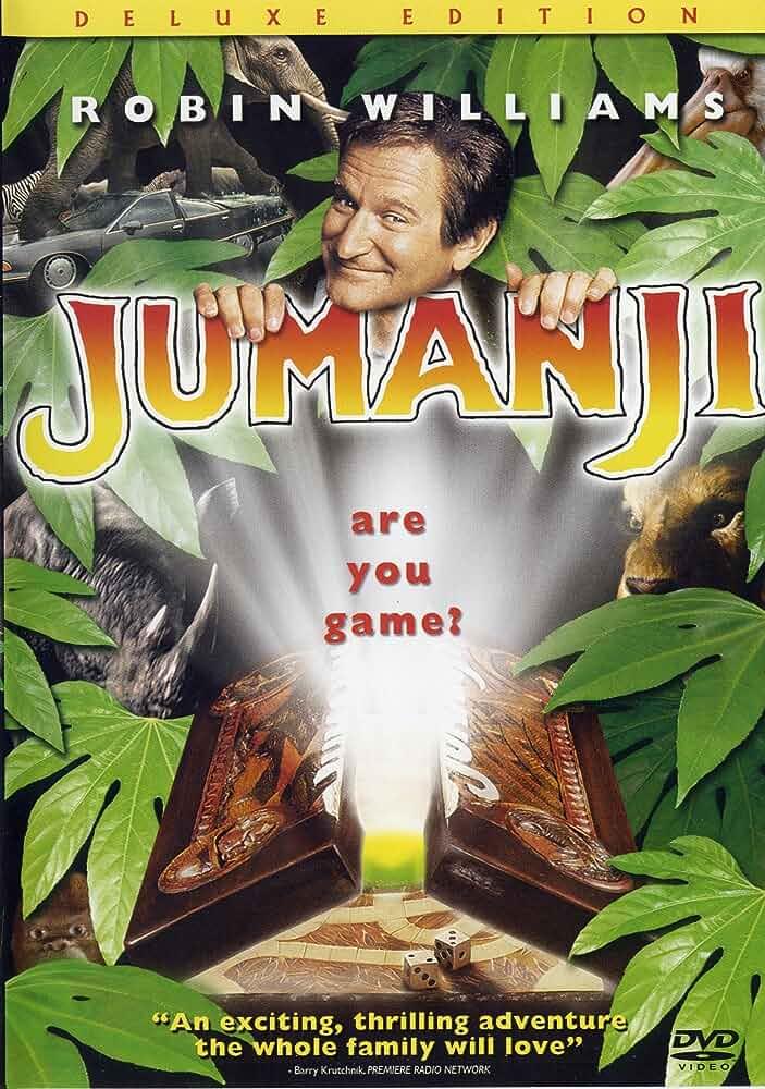 Jumanji 1995 Hindi Dual Audio 720p BluRay full movie watch online freee download at movies365.ws