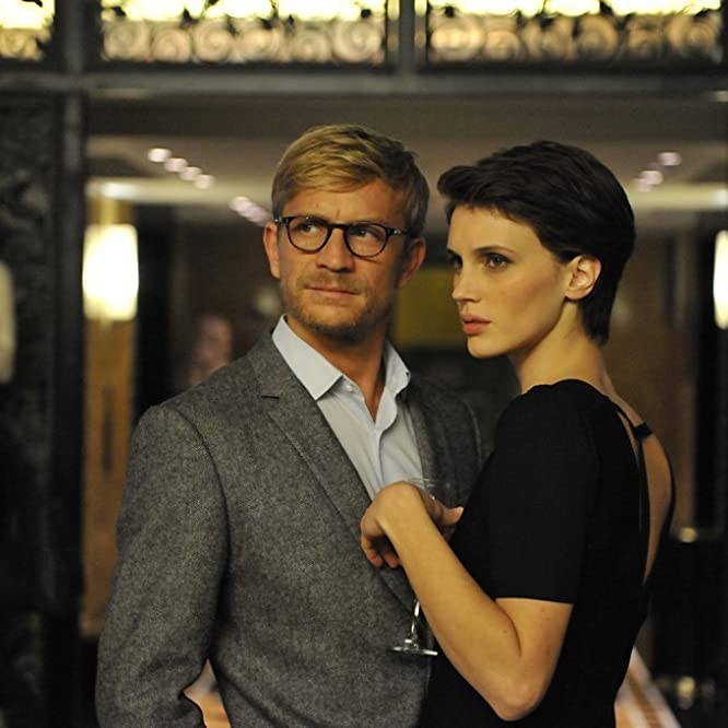 Jérémie Renier and Marine Vacth in Double Lover (2017)