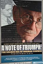 Primary image for A Note of Triumph: The Golden Age of Norman Corwin