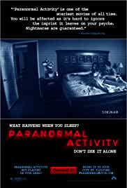 Paranormal Activity 2007 BluRay 720p 950MB Dual Audio ( Hindi – English ) AC3 MKV