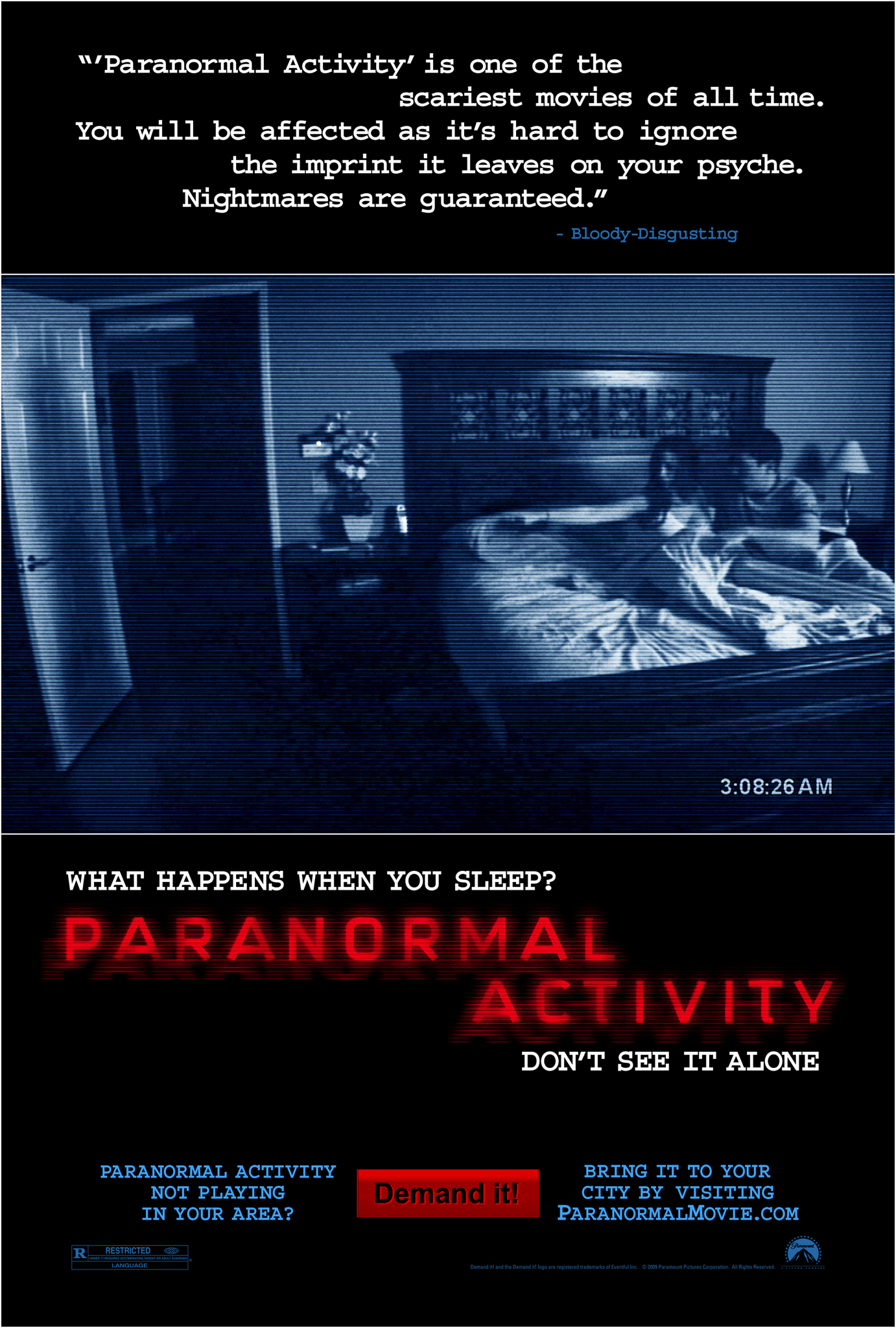 image Paranormal Activity Watch Full Movie Free Online