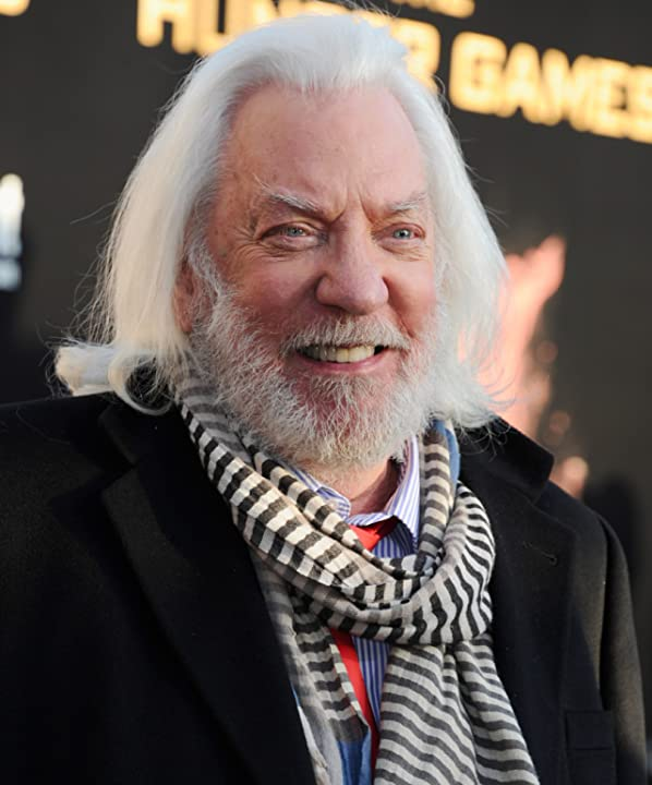 Donald Sutherland at an event for The Hunger Games (2012)