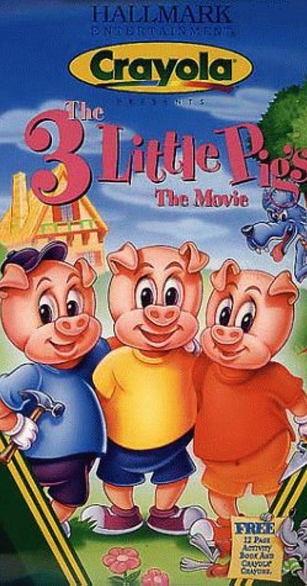 The 3 Little Pigs The Movie Video 1996  IMDb