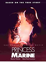 The Princess & the Marine Poster
