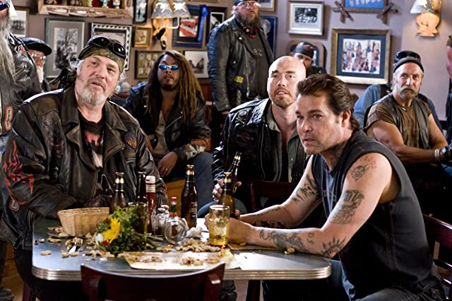 Ray Liotta, Kevin Durand, and M.C. Gainey in Wild Hogs (2007)