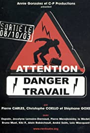 Attention danger travail Poster