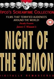Night of the Demon Poster
