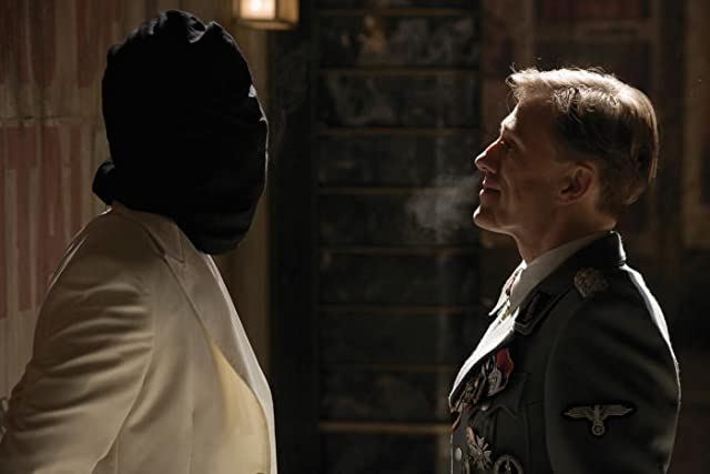 Brad Pitt and Christoph Waltz in Inglourious Basterds (2009)