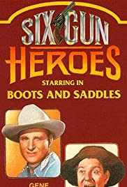 Boots and Saddles Poster