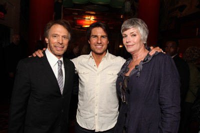 Tom Cruise, Kelly McGillis, and Jerry Bruckheimer at Prince of Persia: The Sands of Time (2010)