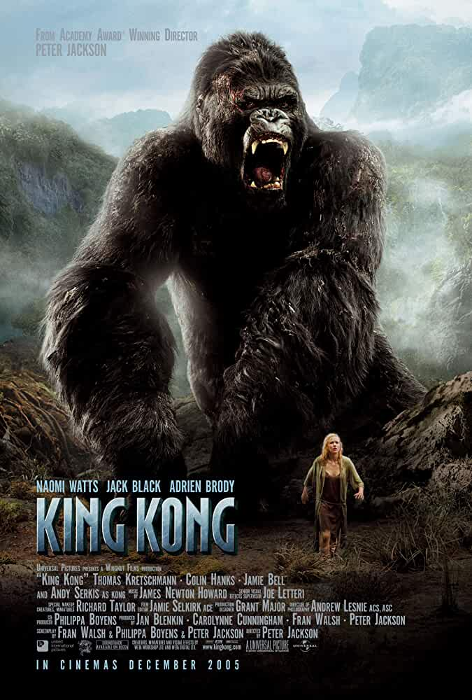 King Kong 2005 ExTended 720p BRRip Dual Audio Watch Online Free Download