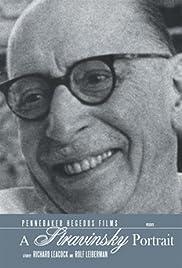 A Stravinsky Portrait Poster