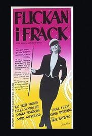 Flickan i frack Poster