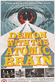 Demon with the Atomic Brain Poster