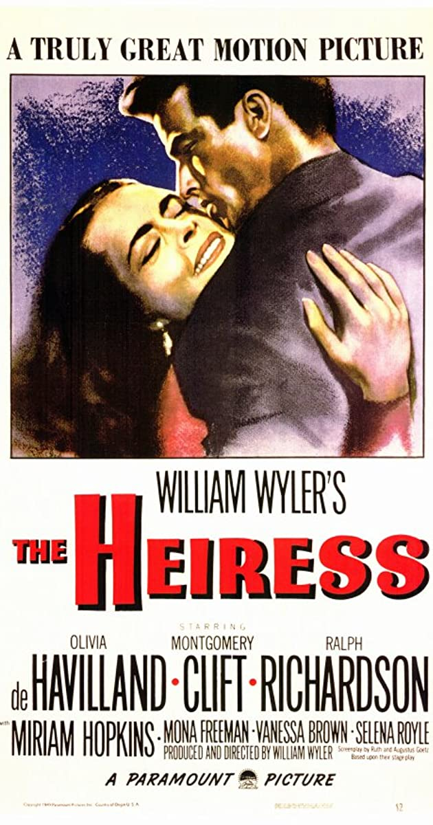 the heiress 1949 imdb