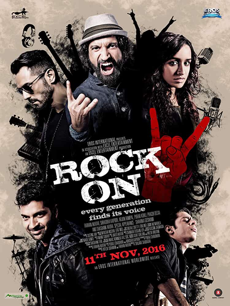 Rock On 2 (2016) 480p DVDScr Watch Online Free Download at movies365.in