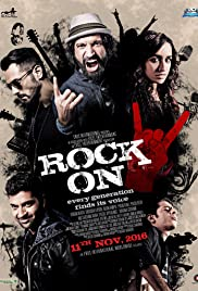 Rock On 2 (2016) Hindi [1CD] DvDScr Xvid Mp3 MAXPRO – 714 MB