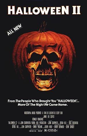 Poster Halloween 2 - Das Grauen kehrt zurück