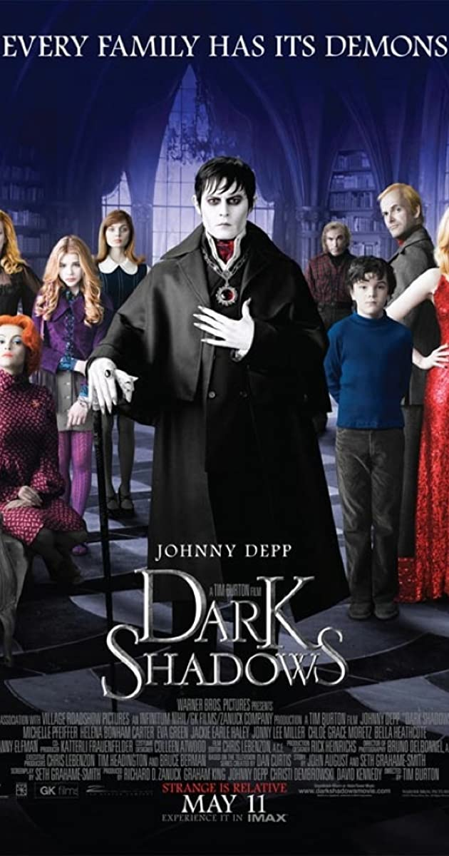 Image result for johnny depp dark shadows