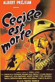 Cécile est morte! Poster
