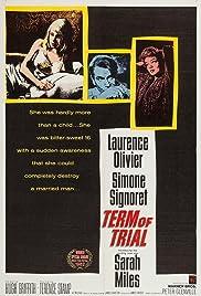 Term of Trial(1962) Poster - Movie Forum, Cast, Reviews